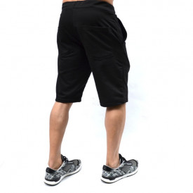 MENS CLASSIC BLACK SWEAT SHORTS SUMMER