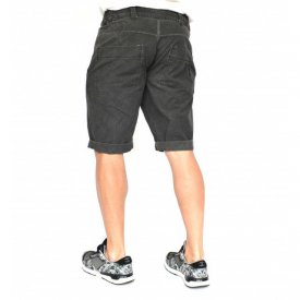Men's shorts Dark Grey oil dye