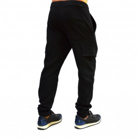 BLACK CARGO MENS CLASSIC SWEAT PANTS WARM FALL WINTER