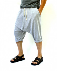 MEN'S DROP CROTCH SWEATSHORTS