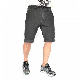 Men's shorts Dark Grey oil dye