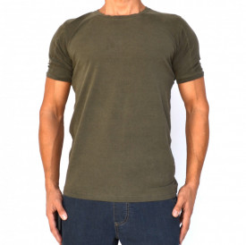 OLIVE OIL DYE MENS TSHIRT