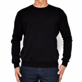 BLACK MENS TSHIRT LONG SLEEVE FALL/WINTER WARM