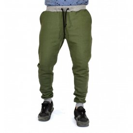 KHAKI Sweat Pants SLIM FIT FALL/WINTER WARM