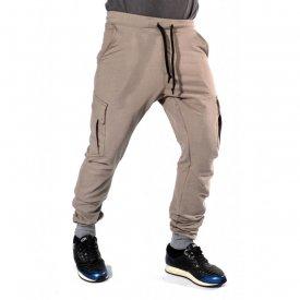 Sweat Pants CARGO TAPERED SLIM FIT FALL/WINTER WARM