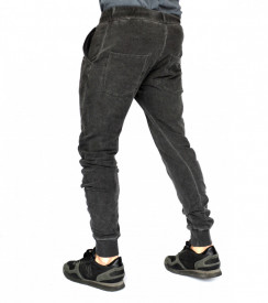 TAPERED SLIM FIT Grey Sweat Pants SPRING/FALL