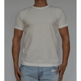 WHITE MENS TSHIRT LUX