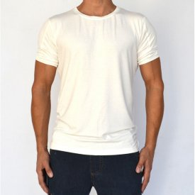 WHITE MENS TSHIRT