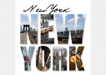 Fototapet Orase, New York time