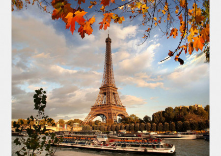 Fototapet Orase, Toamna la Paris