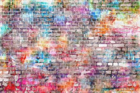 Fototapete, Rezumat perete de cărămidă