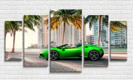 Multicanvas, Lamborghini verde