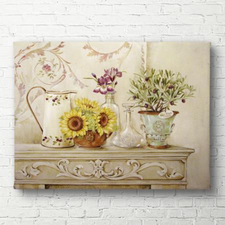 Tablouri Canvas, Floarea-soarelui galben