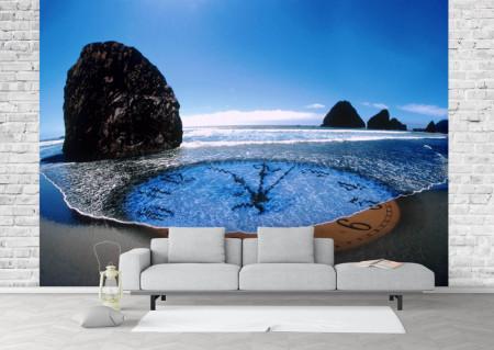 Fototapet Abstract, Ceasul în ocean