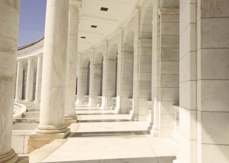 Fototapete, Clădire cu coloane