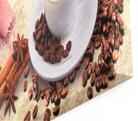 Multicanvas, O ceașcă de cafea cu magnolie pe masă