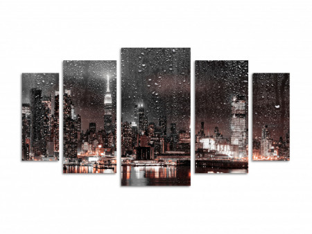 Multicanvas, Orașul de noapte pe apă
