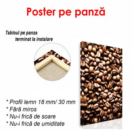 Poster, Boabe de cafea prăjite