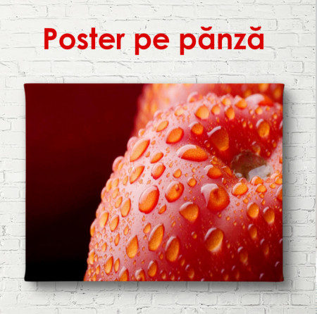Poster, Mărul roșu