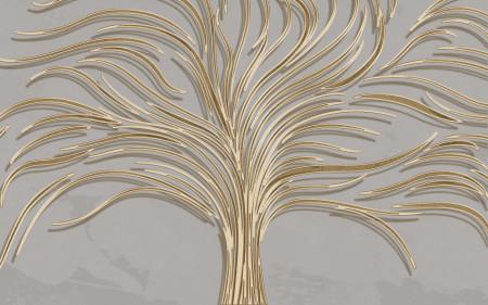 Fototapet, Arborele de aur
