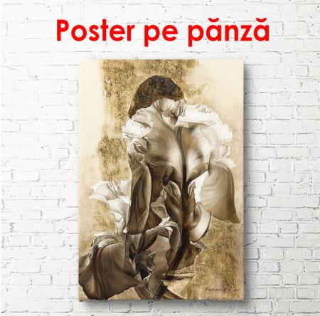 Poster, Fata în flori