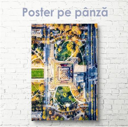 Poster, Vedere de sus a Turnului Eiffel
