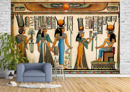 Fototapet Fresco, Fototapete cu stilul egiptean
