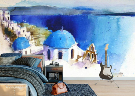 Fototapet Orase, Peisaj maritim
