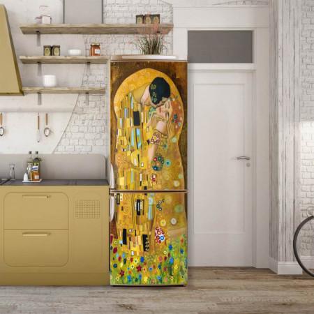 Stickerele decorative, pentru uși, Sărutul, 1 foaie de 80 x 200 cm