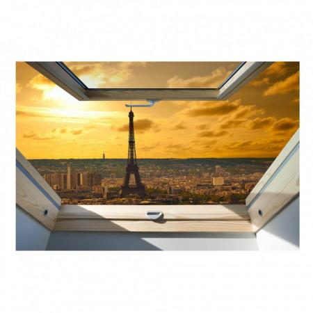 Fereastră falșă, Fereastra 3D cu vederea la Paris