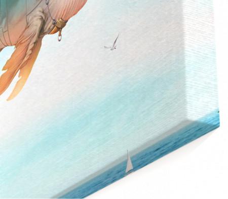 Multicanvas, Balena fantastică pe cer.