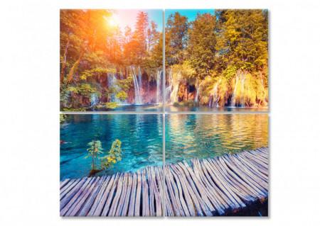 Multicanvas, Cascada frumoasă.