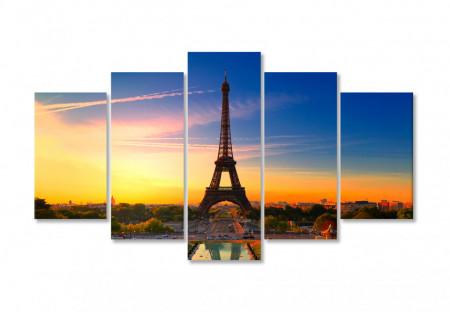 Multicanvas, Parisul la apus