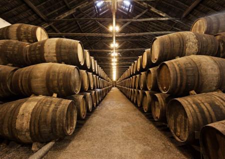 Fototapete, Butoaie de vin
