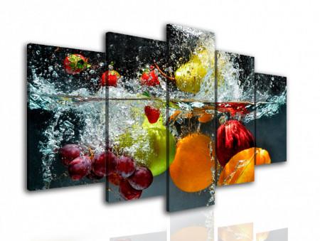 Multicanvas, Fructe în apă.
