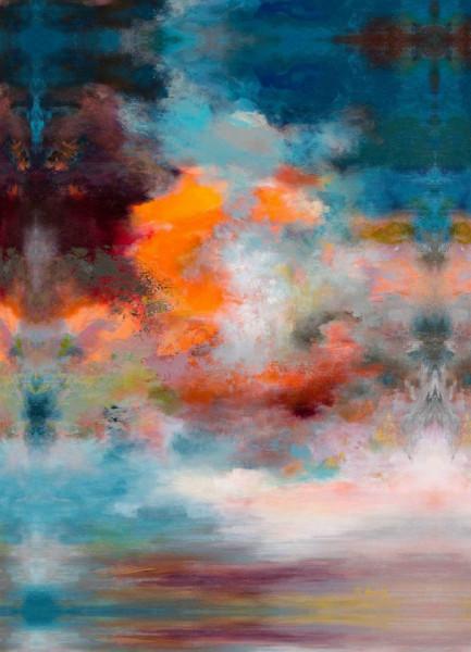 Fototapet Abstract, Fantezie albastră