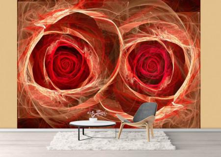 Fototapet, Flori abstracte