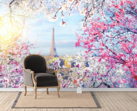 Fototapet Orase, Vederea din Paris