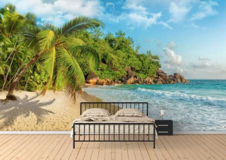 Fototapete, Plajă și palmieri