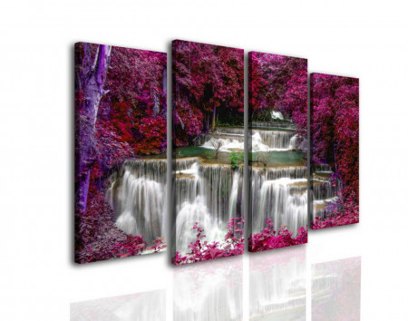 Multicanvas, Cascadă în pădurea roz