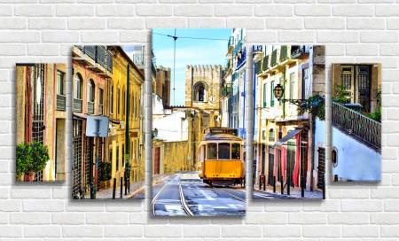 Multicanvas, Catedrala din Lisabona
