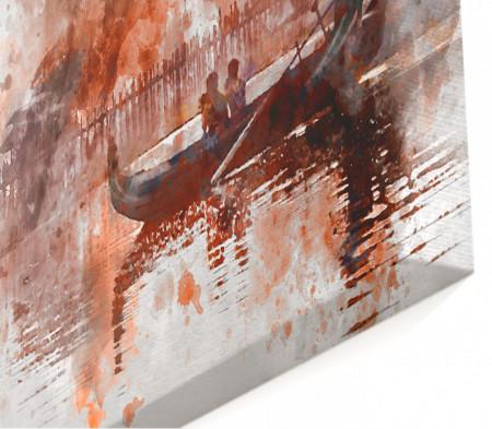 Tablou modular, Peisaj abstract.