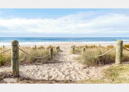 Fototapete, O zi pe plajă