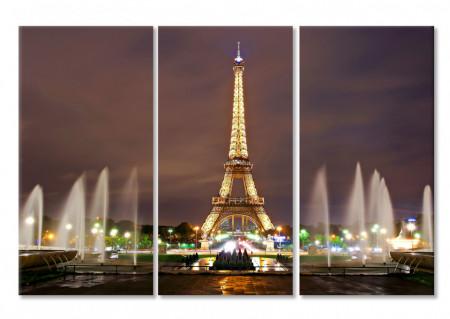 Multicanvas, Parisul de noaptea.