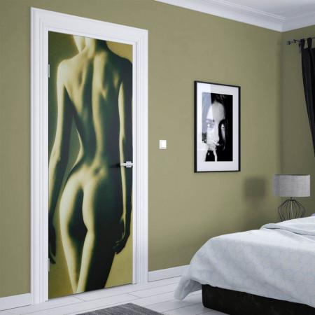 Stickere 3D pentru uși, Femeia nudă, 1 foaie de 80 x 200 cm