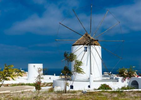 Fototapet Orase, Moară de vânt
