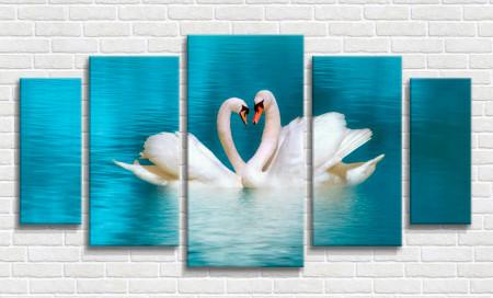 Multicanvas, Lebede în dragoste