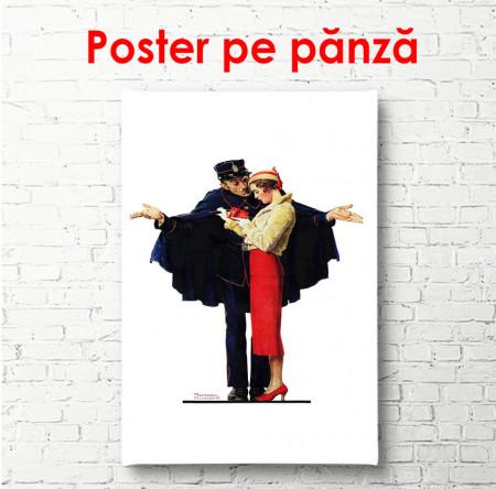 Poster, Un cuplu din trecut