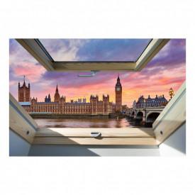 Fereastră falșă, Fereastra 3D cu vederea spre Londra