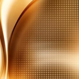 Fototapet, Abstracție în nuanțe aurii